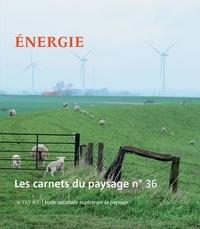 Jean-Marc Besse et Gilles A. Tiberghien - Les carnets du paysage N° 36, automne 2019 : Energie.