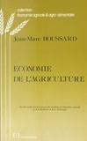 Jean-Marc Boussard - Économie de l'agriculture.