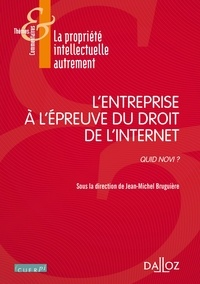 Jean-Marc Bruguière - L'entreprise à l'épreuve du droit de l'internet - Quid novi ?.