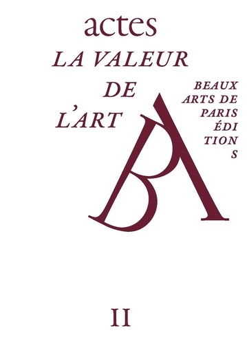Jean-Marc Bustamante - La valeur de l'art.