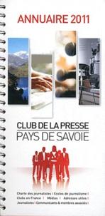 Jean-Marc Canova - Annuaire 2011 du club de la presse Pays de Savoie.