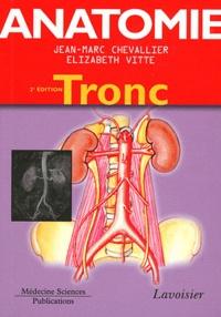 Anatomie- Tome 1, Tronc - Jean-Marc Chevallier | Showmesound.org