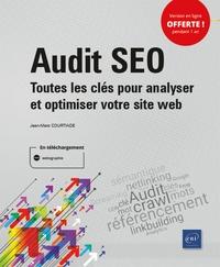 Jean-Marc Courtiade - Audit SEO - Toutes les clés pour analyser et optimiser votre site web.