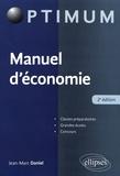 Jean-Marc Daniel - Manuel d'économie.