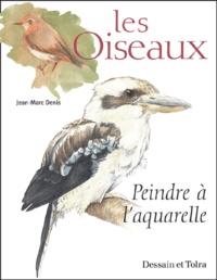 Deedr.fr Les oiseaux - Peindre à l'aquarelle Image