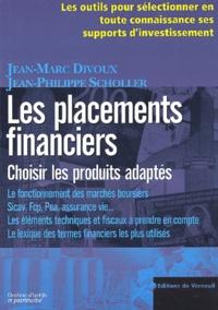 Les placements financiers - Choisir les produits adaptés.pdf
