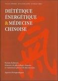 Jean-Marc Eyssalet - Diététique énergétique & médecine chinoise - Notion d'aliment, éléments de physiologie chinoise et traitements préventifs des terrains, Aspects thérapeutiques.