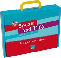 Jean-Marc Furgerot et Frédéric Houllier - Speak and Play CM1 - L'anglais pour la classe. 1 CD audio