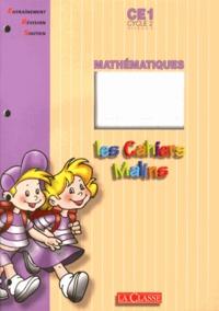 Jean-Marc Genevoy - Mathématiques CE1 - Lot de 5 exemplaires.