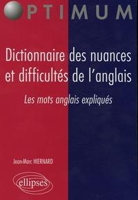 Galabria.be Dictionnaire des nuances et difficultés de l'anglais - Les mots anglais expliqués Image