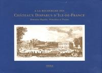 Jean-Marc Hofman - A la recherche des Châteaux Disparus d'Ile-de-France - Demeures Royales, Princières et Privées.