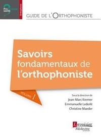 Deedr.fr Guide de l'orthophoniste : savoirs fondamentaux Image