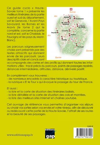 Cyclo Haute-Savoie Mont-Blanc. Tome 1, Genevois, Avant-Pays, Bornes, Aravis 2e édition