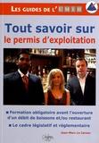 Jean-Marc Le Carour - Le permis d'exploiter.