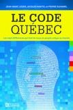 Jean-Marc Léger et Jacques Nantel - Le code Québec.