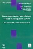 Jean-Marc Moriceau - Les campagnes dans les évolutions sociales et politiques en Europe - des années 1830 à la fin des années 1920.
