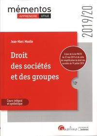 Jean-Marc Moulin - Droit des sociétés et des groupes.