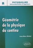 Jean-Marc Rinkel - Géométrie de la physique du continu.