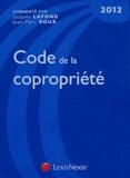 Jean-Marc Roux et Jacques Lafond - Code de la copropriété 2012.