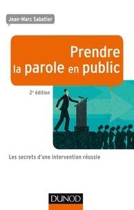 Deedr.fr Prendre la parole en public - Les secrets d'une intervention réussie Image
