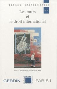 Jean-Marc Sorel - Les murs et le droit international.