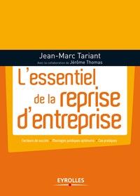 Jean-Marc Tariant - L'essentiel de la reprise d'entreprise.