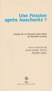 Deedr.fr Une Passion après Auschwitz ? - A l'occasion de La Passion selon Marc de Michaël Levinas Image