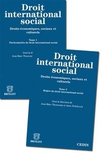 Jean-Marc Thouvenin et Anne Trebilcock - Droit international social - Droits économiques, sociaux et culturels, 2 volumes.