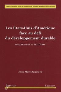 Les Etats-Unis dAmérique face au défi du développement durable - Peuplement et territoire.pdf