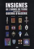 Jean Marchetti et Charles Janier - Insignes de l'armée de terre - Guerre d'Algérie.