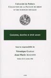 Jean-Marie Augustin et Véronique Gazeau - Coutumes, doctrine et droit savant.