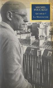 Jean-Marie Auzias et Martine Franck - Michel Foucault.