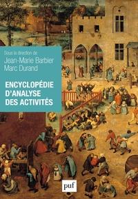 Jean-Marie Barbier et Marc Durand - Encyclopédie d'analyse des activités.