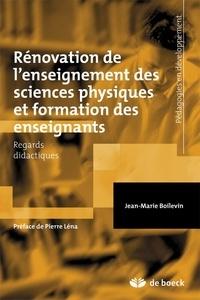 Jean-Marie Boilevin - Rénovation de l'enseignement sciences physiques et formation des enseignants - Regards didactiques.