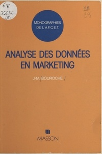 Jean-Marie Bouroche - Analyse des données en marketing.