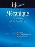 Jean-Marie Brébec et Philippe Denève - Mécanique 1re année MPSI-PCSI-PTSI - édition 2003.