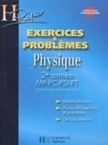 Jean-Marie Brébec et Tania Chaboud - Physique 2e année MP-PC-PSI-PT - Exercices & problèmes.