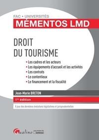 Jean-Marie Breton - Droit du tourisme.