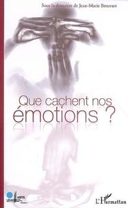 Jean-Marie Breuvart - Que cachent nos émotions ?.