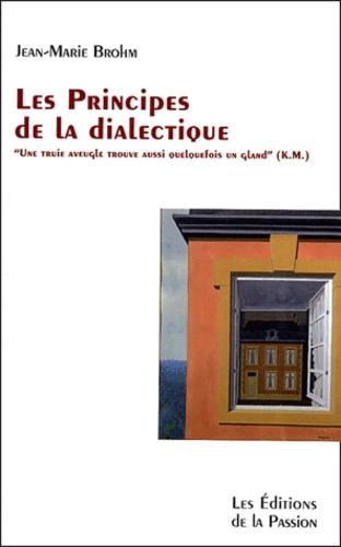 Jean-Marie Brohm - Les principes de la dialectique.