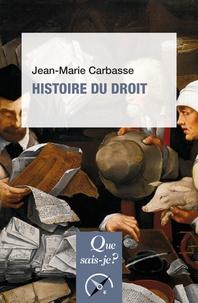 Téléchargement de livre audio Histoire du droit par Jean-Marie Carbasse (French Edition) 9782130799566