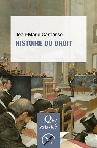 Histoire du droit 5e édition revue et corrigée