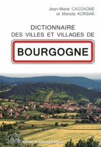 Histoiresdenlire.be Dictionnaire des villes et villages de Bourgogne Image