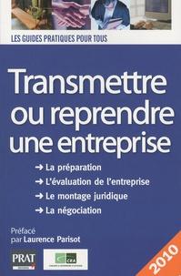 Deedr.fr Transmettre ou reprendre une entreprise 2010 Image