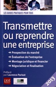 Jean-Marie Catabelle - Transmettre ou reprendre une entreprise 2013.