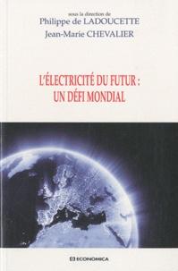 Jean-Marie Chevalier et Philippe de Ladoucette - L'électricité du futur : un défi mondial.