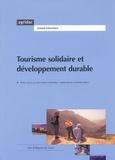 Jean-Marie Collombon et Sandra Barlet - Tourisme solidaire et développement durable.