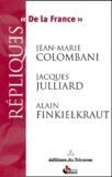 Jean-Marie Colombani et Jacques Julliard - .
