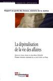 Jean-Marie Coulon - La dépénalisation de la vie des affaires.