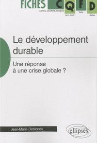 Le développement durable - Une réponse à une crise globale ?.pdf